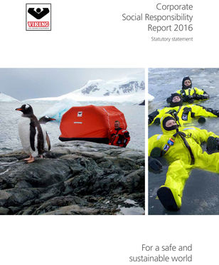 VIKING CSR Polik for 2016