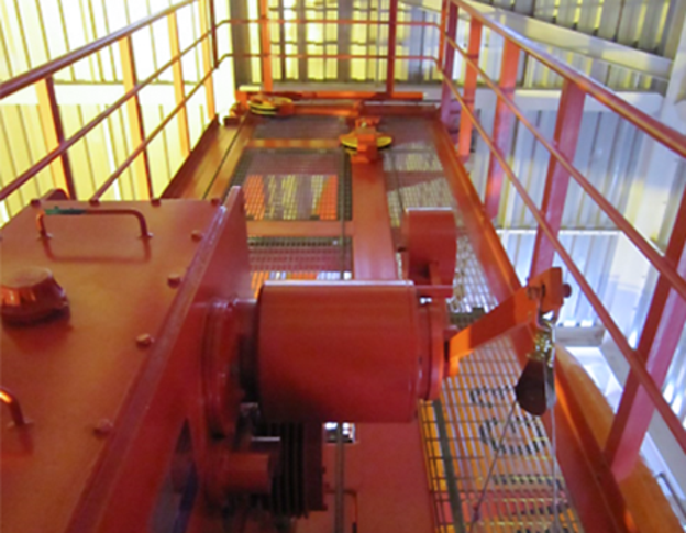 Fully enclosed lifeboat solution for -30 degrees celsius VIKING Norsafe