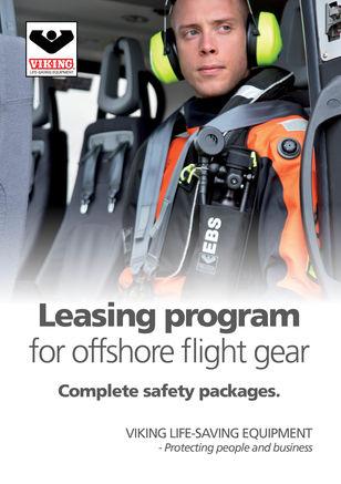 VIKING Leasing Program, offshore flight gear