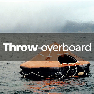 VIKING Throw-overboard liferaft