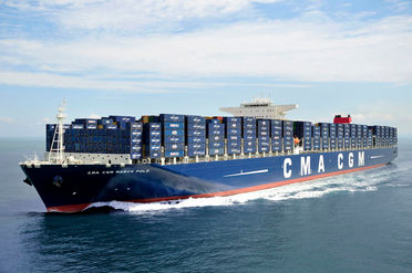 CMA CGM vessel Marco Polo - link to press release