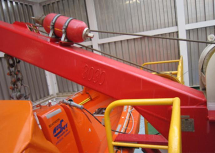 VIKING Norsafe lifeboat enclosure