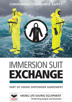 Exchange of immerson suits from VIKING