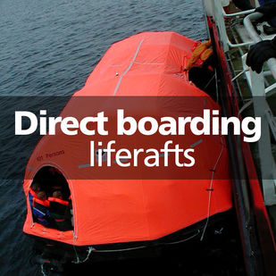 VIKING direct boarding liferafts