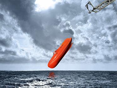 VIKING Norsafe freefall lifeboat