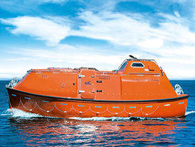 VIKING Norsafe Miriam-8.5 totally enclosed lifeboat - maximum 73 persons