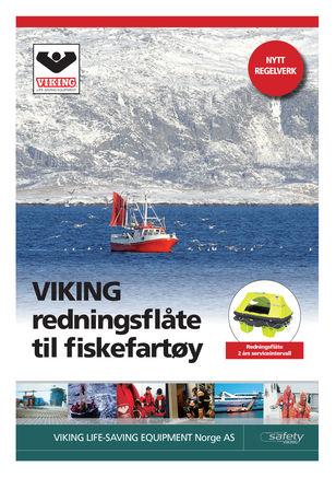 VIKING redningsflåder beregnet til Fiskefartøy