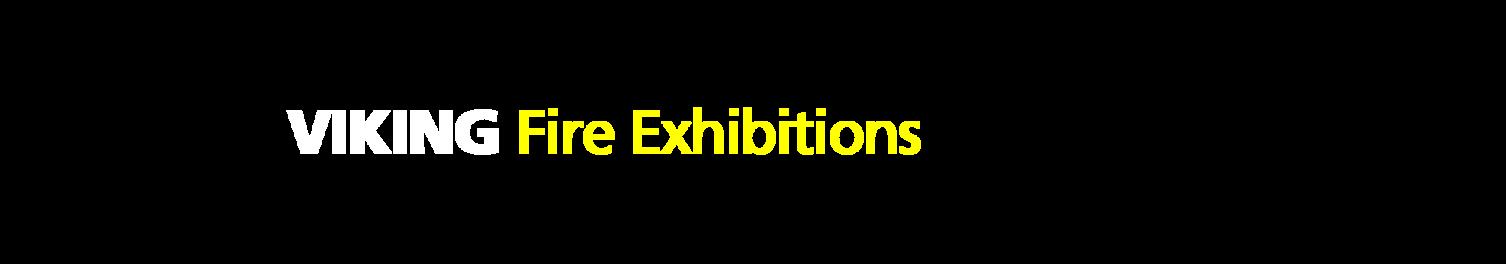 VIKING Firefighter Equipment Banner text Exhibitions