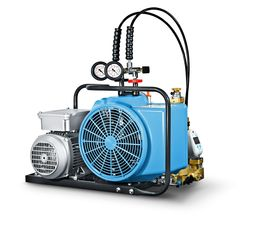 Air Compressor, Junior II-E,3-phase, 440 V, 50Hz and 300 bar.