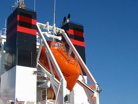 VIKING Norsafe GES-18 free-fall lifeboat - maximum 18 persons