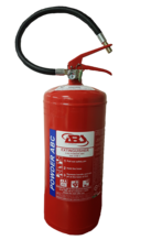 Fire Extinguisher, 9 kg, ABC Powder, Stored Pressure, ABS