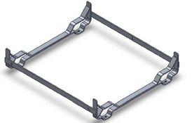 Aluminium deck cradle, including lashing for 8DK+ & 12DK+ in low profile container